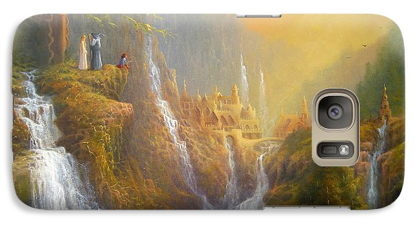 Rivendell Wisdom Of The Elves. Galaxy S7 Case by Joe  Gilronan
