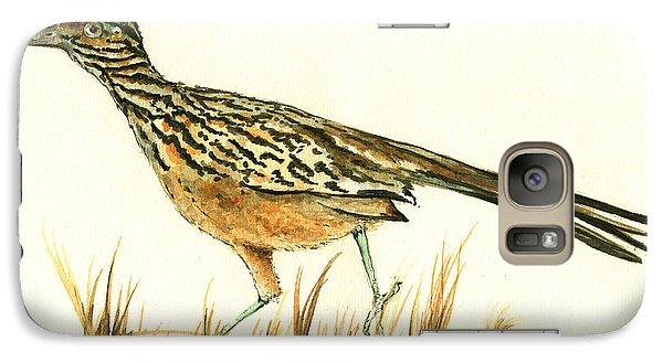 Roadrunner Bird Galaxy S7 Case by Juan Bosco