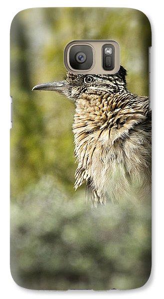 Roadrunner On Guard  Galaxy S7 Case by Saija  Lehtonen