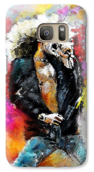 Robert Plant 03 Galaxy S7 Case by Miki De Goodaboom