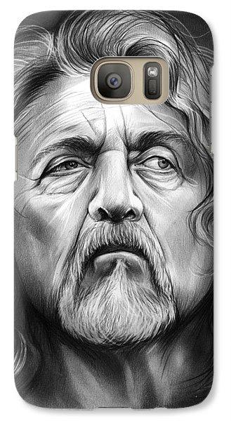 Robert Plant Galaxy S7 Case by Greg Joens
