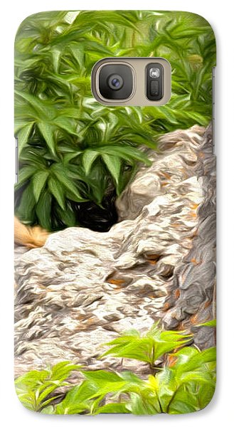 Rock Chuck Galaxy S7 Case by Lana Trussell