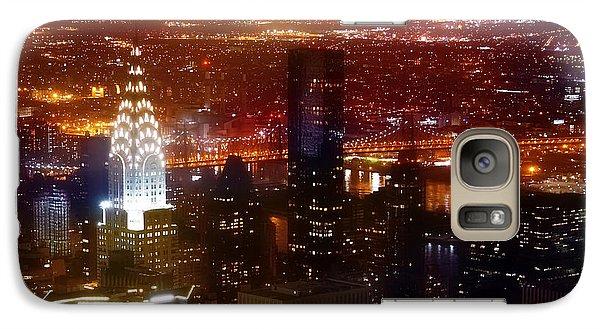 Romantic Skyline Galaxy Case by Az Jackson