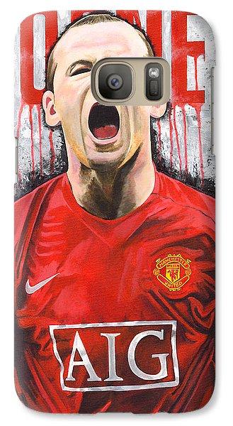 Rooney Galaxy Case by Jeff Gomez