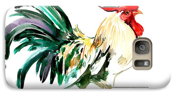 Rooster Galaxy S7 Case by Suren Nersisyan