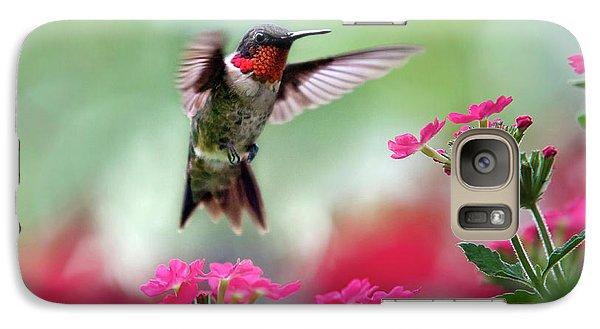 Ruby Garden Jewel Galaxy S7 Case by Christina Rollo