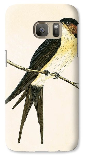 Rufous Swallow Galaxy S7 Case by English School