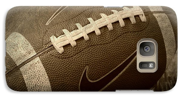 Rustic Football Galaxy Case by Amy Steeples