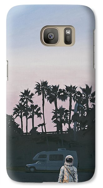Rv Dusk Galaxy S7 Case by Scott Listfield