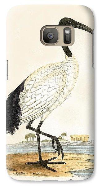 Sacred Ibis Galaxy S7 Case by English School