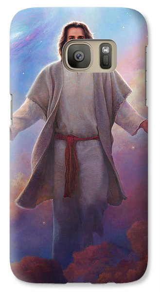 Sacred Space Galaxy Case by Greg Olsen