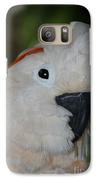 Salmon Crested Cockatoo Galaxy S7 Case by Sharon Mau