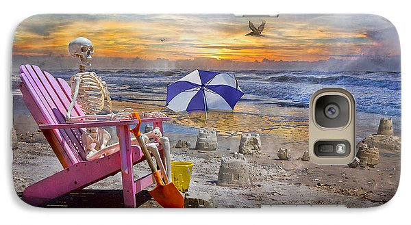 Sam's  Sandcastles Galaxy S7 Case by Betsy Knapp