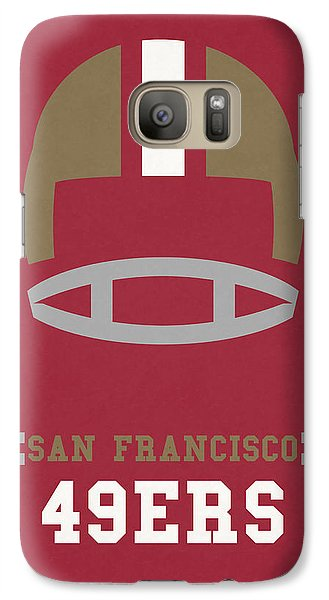 San Francisco 49ers Vintage Art Galaxy S7 Case by Joe Hamilton