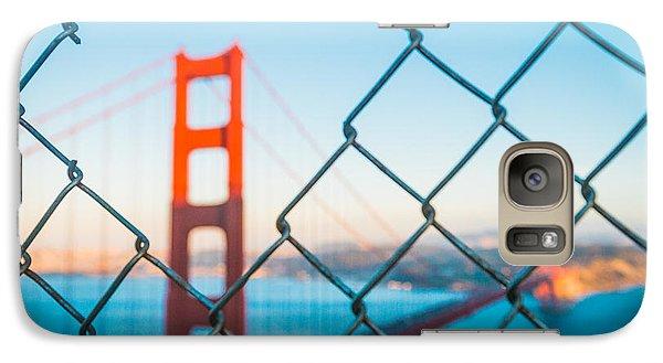 San Francisco Golden Gate Bridge Galaxy S7 Case by Cory Dewald