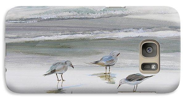 Sandpipers Galaxy S7 Case by Julianne Felton