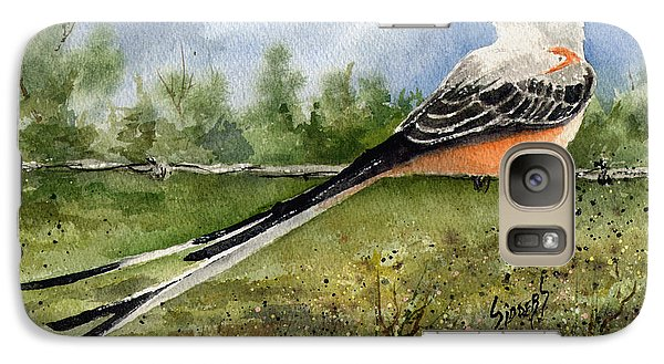 Scissor-tail Flycatcher Galaxy S7 Case by Sam Sidders