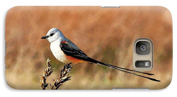 Scissor-tailed Flycatcher Galaxy S7 Case by Betty LaRue