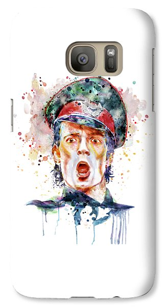 Scott Weiland Galaxy S7 Case by Marian Voicu