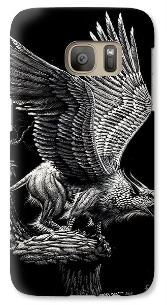 Screaming Griffon Galaxy S7 Case by Stanley Morrison