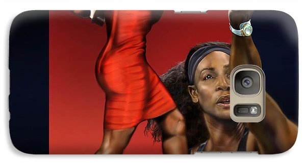 Sensuality Under Extreme Power - Serena The Shape Of Things To Come Galaxy Case by Reggie Duffie