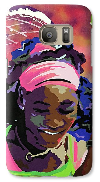Serena Galaxy S7 Case by Chelsea VanHook
