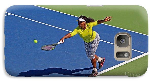 Serena Williams 1 Galaxy S7 Case by Nishanth Gopinathan