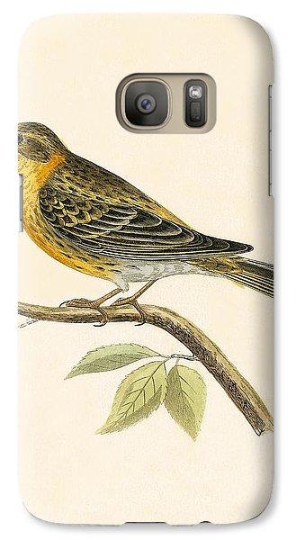 Serin Finch Galaxy S7 Case by English School