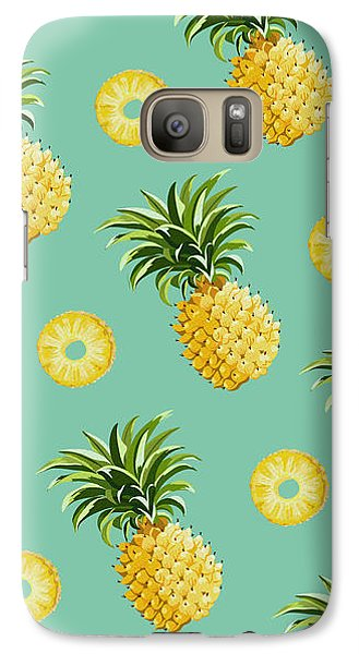Set Of Pineapples Galaxy Case by Vitor Costa