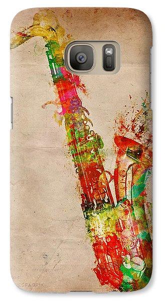 Sexy Saxaphone Galaxy S7 Case by Nikki Smith
