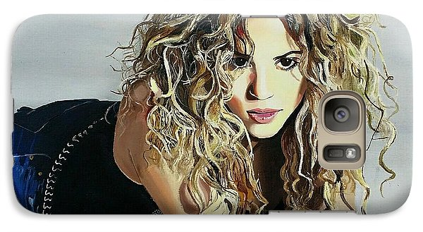 Shakira  Galaxy S7 Case by Gitanjali  Sood