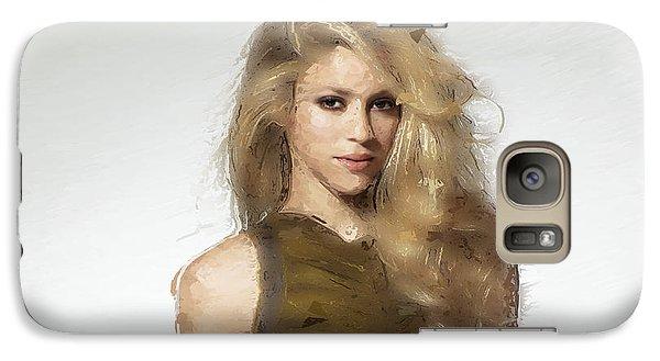 Shakira Galaxy Case by Iguanna Espinosa