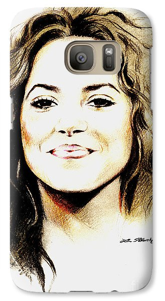 Shakira Galaxy S7 Case by Lin Petershagen