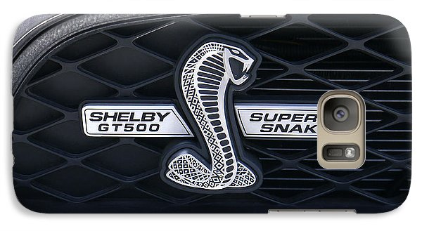 Shelby Gt 500 Super Snake Galaxy Case by Mike McGlothlen
