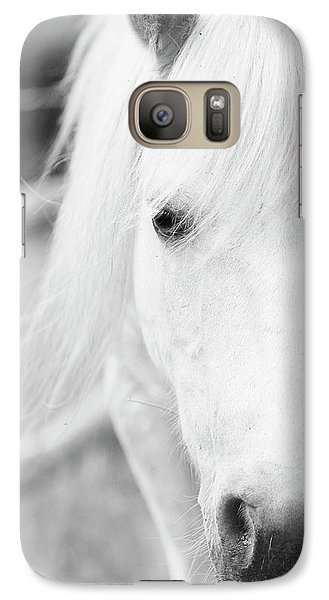 Shetland Pony Galaxy Case by Tina Lee