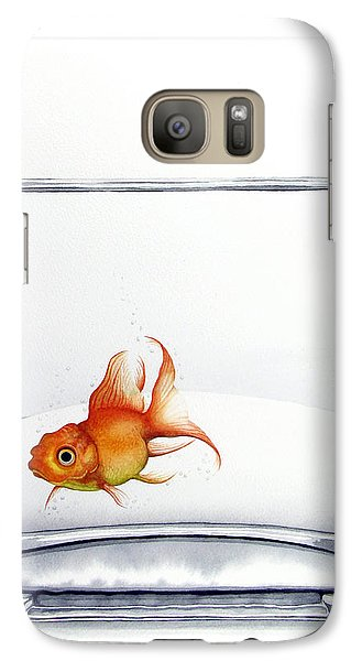 Shiny Galaxy S7 Case by Christina Meeusen