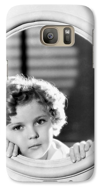 Shirley Temple (1928-2014) Galaxy S7 Case by Granger