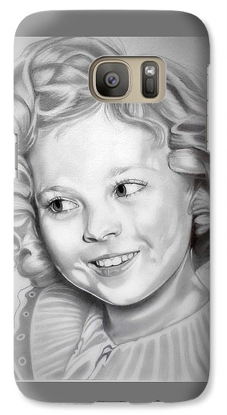 Shirley Temple Galaxy S7 Case by Fred Larucci