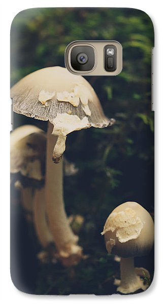 Shroom Family Galaxy Case by Shane Holsclaw