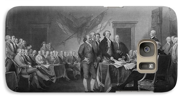 Signing The Declaration Of Independence Galaxy Case by War Is Hell Store