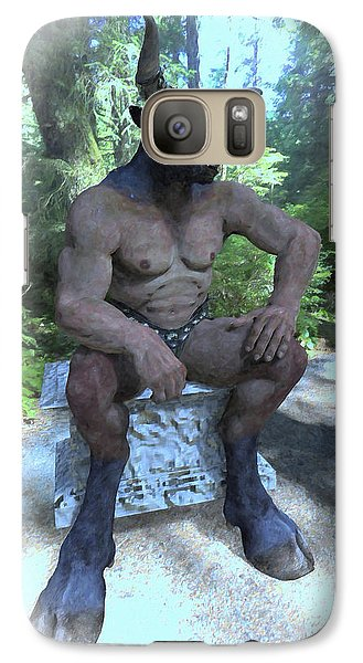 Sitting Bull Galaxy S7 Case by Joaquin Abella