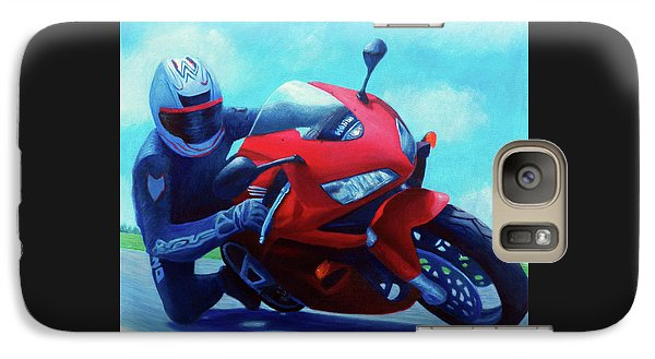 Sky Pilot - Honda Cbr600 Galaxy Case by Brian  Commerford