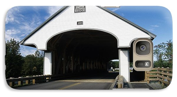 Smith Covered Bridge - Plymouth New Hampshire Usa Galaxy Case by Erin Paul Donovan