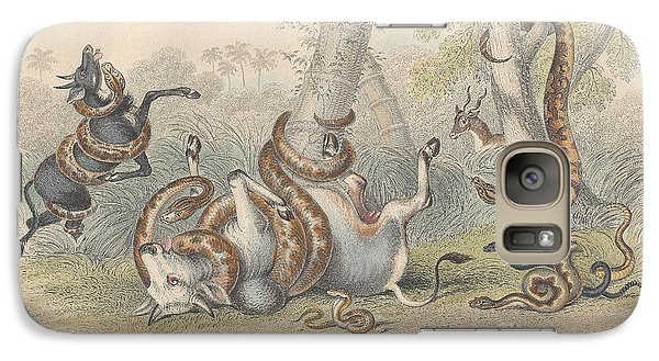 Snakes Galaxy Case by Oliver Goldsmith