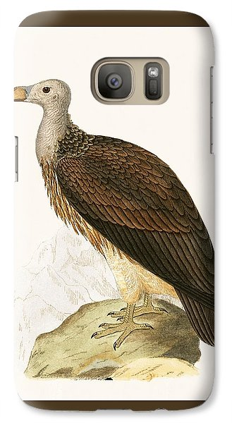 Sociable Vulture Galaxy S7 Case by English School
