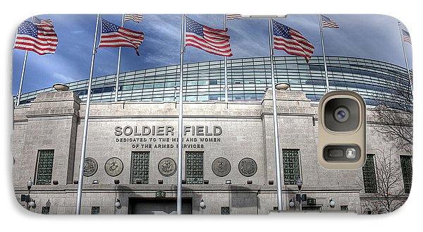 Soldier Field Galaxy Case by David Bearden