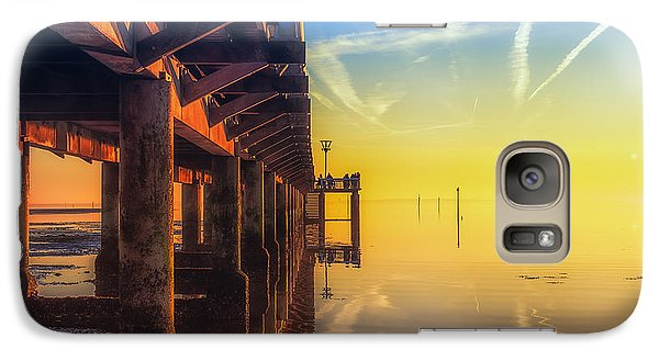 Galaxy Case featuring the photograph Somewhere Else by Thierry Bouriat
