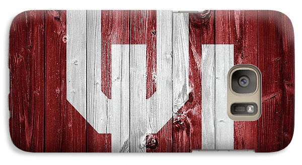 Sooners Barn Door Galaxy Case by Dan Sproul