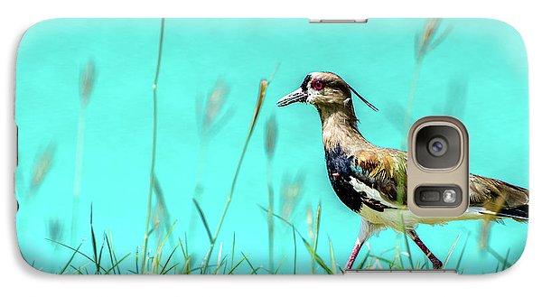 Southern Lapwing Galaxy S7 Case by Randy Scherkenbach
