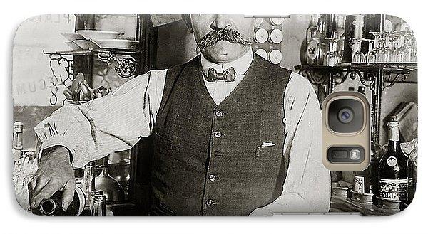 Speakeasy Bartender Galaxy Case by Jon Neidert